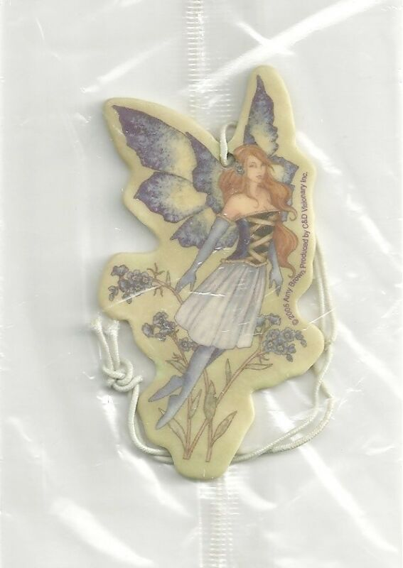 Amy Brown Forget Me Knot II Fairy Art Image Air Freshener, NEW UNUSED SEALED