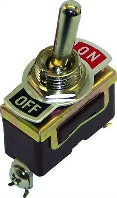 Invincible Marine Br51330 Toggle Switch Brass Onoff
