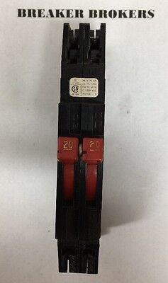 Zinsco Sylvania Gte Rc38 20 Amp 2 Pole Circuit Breaker W240volt Pin Ships Today