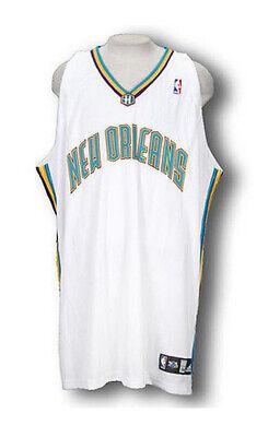 Authentic Adidas Nba Basketball Jersey - Adidas NBA Basketball Men's New Orleans Hornets Authentic Blank Jersey - White
