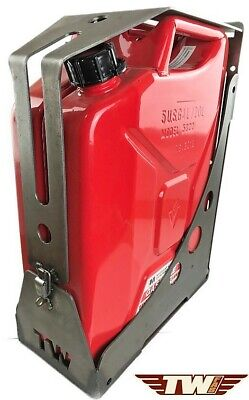Jerry Can Mount Carrier Holder Jeep JK WJ YJ TJ Offroad Gas Can Mount LOCKING Jerry Can Carrier