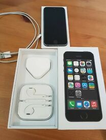 iPhone 5s 16gb space grey in great condition unlocked