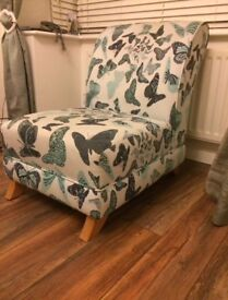 Stunning Butterfly Chair DFS Marnie