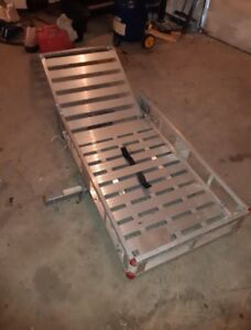 Aluminum Hitch Cargo Carrier with ramp