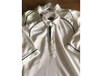 Boys Canterbury of New Zealand Cricket tops. Aged 12-13 years approx.
