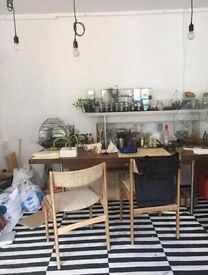 studio space to share in Hackney, e5.