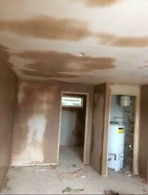 Plasterer available for free quotations