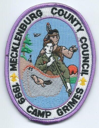 1999 Camp Grimes Patch, Mecklenburg County Council