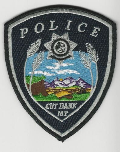 Cutbank Police State Montana MT patch