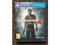 UNCHARTED 4 PS4 Playstation 4 Game