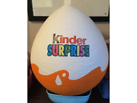 3ft Hand made giant surprise egg (ready to fill with your own toys)