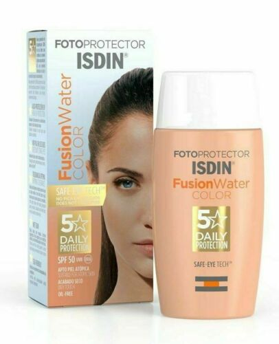ISDIN Fotoprotector FUSION WATER COLOR Oil-Free Tinted Sunscreen SPF50, 50ml