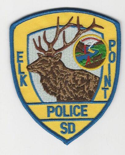 Colorful Elk Point Police State South Dakota SD