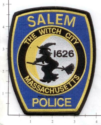Massachusetts - Salem MA Police Dept Patch - The Witch City - Blue