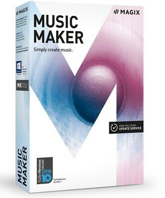 Used, MAGIX Music Maker – 2017 Plus Edition – Make your own music the easy way  for sale  Harriman