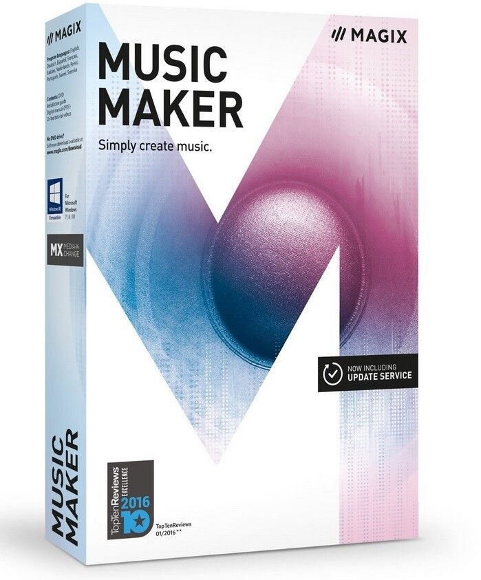 Magix Music Maker – 2017 Plus Edition – Make Your Own Mus...