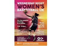 Wednesday Night Women's Basketball Scrimmage - Play non-stop for 2hrs