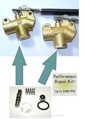 Carpet Cleaning - Truckmount Wand Valve Performance Repair Kit