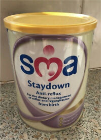 SMA Staydown Anti-Reflux Formula Milk