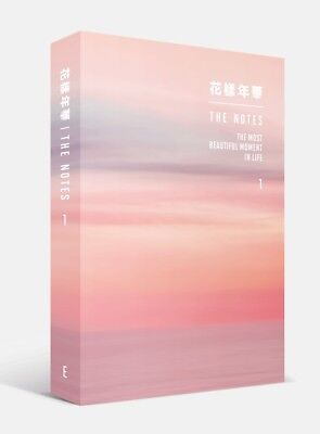 dd34c1ec09 BTS 花樣年華 THE MOST BEAUTIFUL MOMENT IN LIFE NOTES 1  ENG  BOOK KPOP