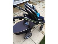 Oyster Max double or single pram