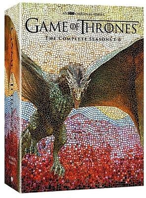 Game of Thrones: The Complete 1-6 Seasons 1 2 3 4 5 6 (DVD, 2016) 30 DVD Box Set
