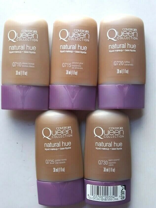 CoverGirl Queen Collection Natural Hue Liquid Makeup Foundat