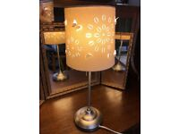 beautiful butterfly lamp , in perfect condition