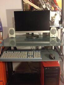 Gaming PC + Monitor