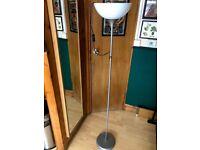 tall lamp silver