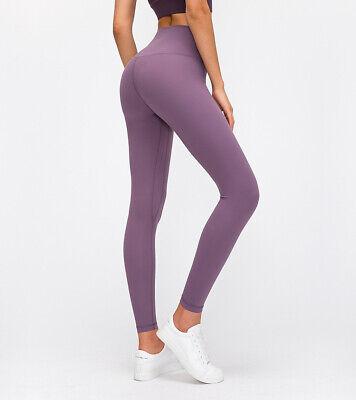 "ALIGN CROP  PANTS  leggings 25"" 7/8   lululemon PURPLE usaw6/uk10/small"