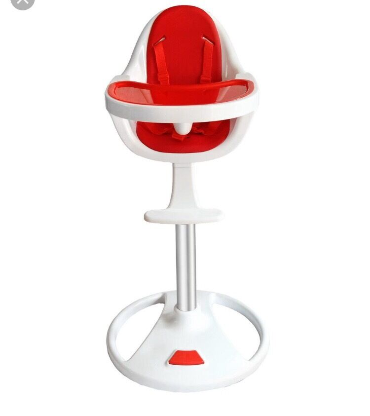 Retro baby 360 degree swivel highchair