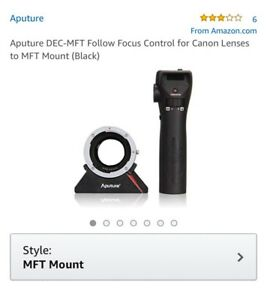 Aputure DEC-MFT Follow Focus Control for Canon Lenses