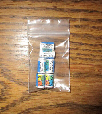 """15 Pcs. 3//4 and 1/"""" Practical Geocaching® Small Log Protectors for 1//2"""