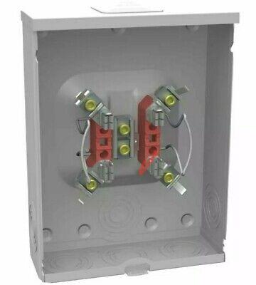 Milbank 200-amp Ringless Single Phase 120240 Meter Socket New In Box