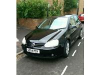 Black VW Golf '04 2.0l petrol