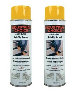 Rustoleum AS2144838 Anti-Slip Spray Paint, Yellow Color - 2/Pack Anti Slip Spray Paint