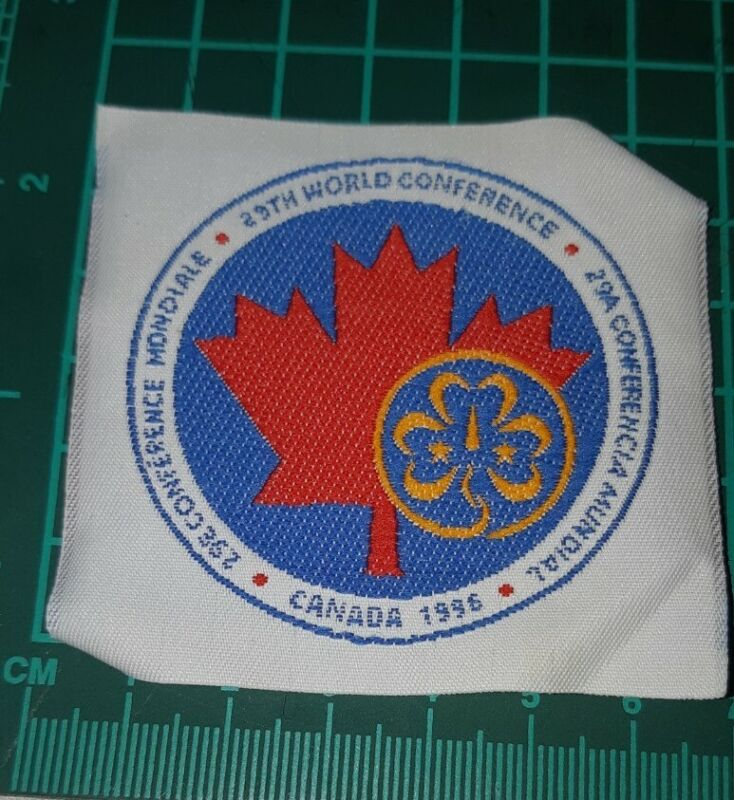 29th World Conference Canada 1996 Girl Guide Badge