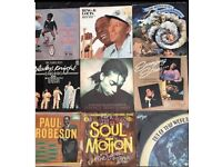 9 x vintage vinyl albums of mixed genres