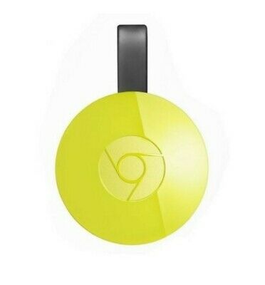 Google Chromecast Streaming Media Player 2nd Generation - Yellow - NEW! 🇨🇦