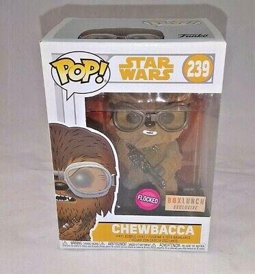 Funko Pop #239 Star Wars Chewbacca (Flocked) /Vinyl Figure/ BoxLunch Exclusive!!