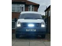 Ford Transit SWB T260 high roof 08 plate