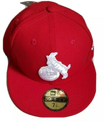 New Era 59fifty FC Koln Fitted Cap In Red Size 7 1/4 (57.7cms)