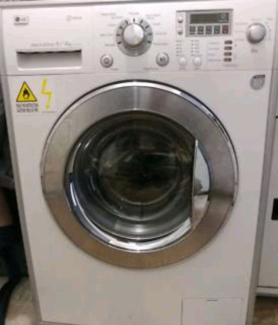 LG WASHER DRYER Combo (FREE DELIVERY AVAILABLE)