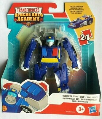 Playskool Heroes Transformers CHASE THE POLICE  Rescue Bots Academy Rescan