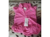 Ralph Lauren Dress with matching briefs - Pink 3months