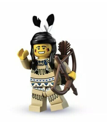 LEGO Series 1 Minifigure Indian Tribal Hunter COL001 8683