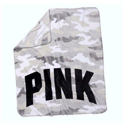 Victoria's Secret Sherpa Decke Camouflage Neu Groß Ovp Geschenk  (Victoria Secret Decke)