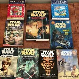 STAR WARS AND HARRY POTTER BOOKS