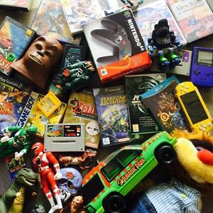 Wanted: video games and systems and 80s/90s action figures and toys Charlestown Lake Macquarie Area Preview